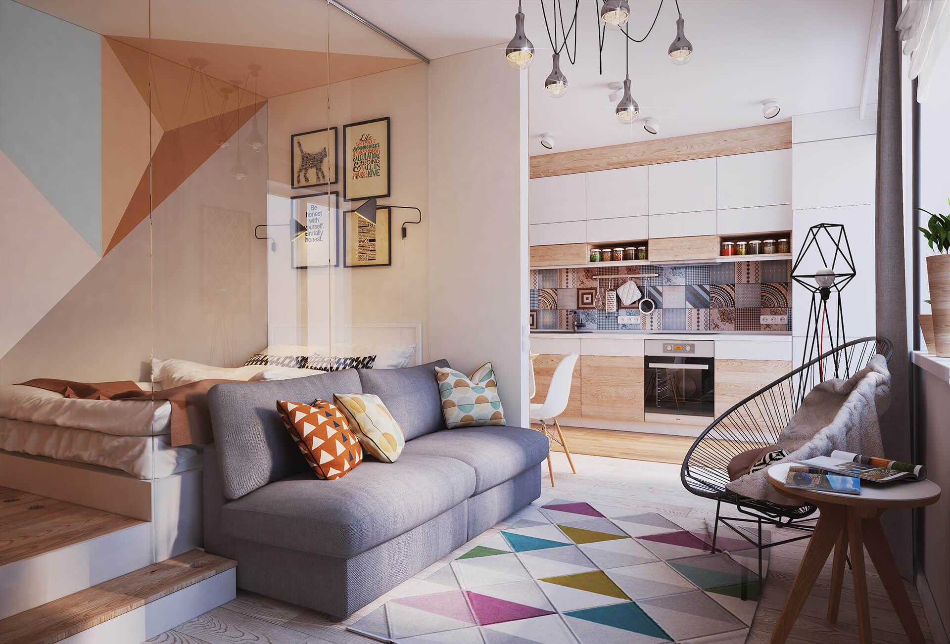 Design Ideas For Studio Apartments ideas studio design apartment Fabulous Design Ideas For Small Apartments