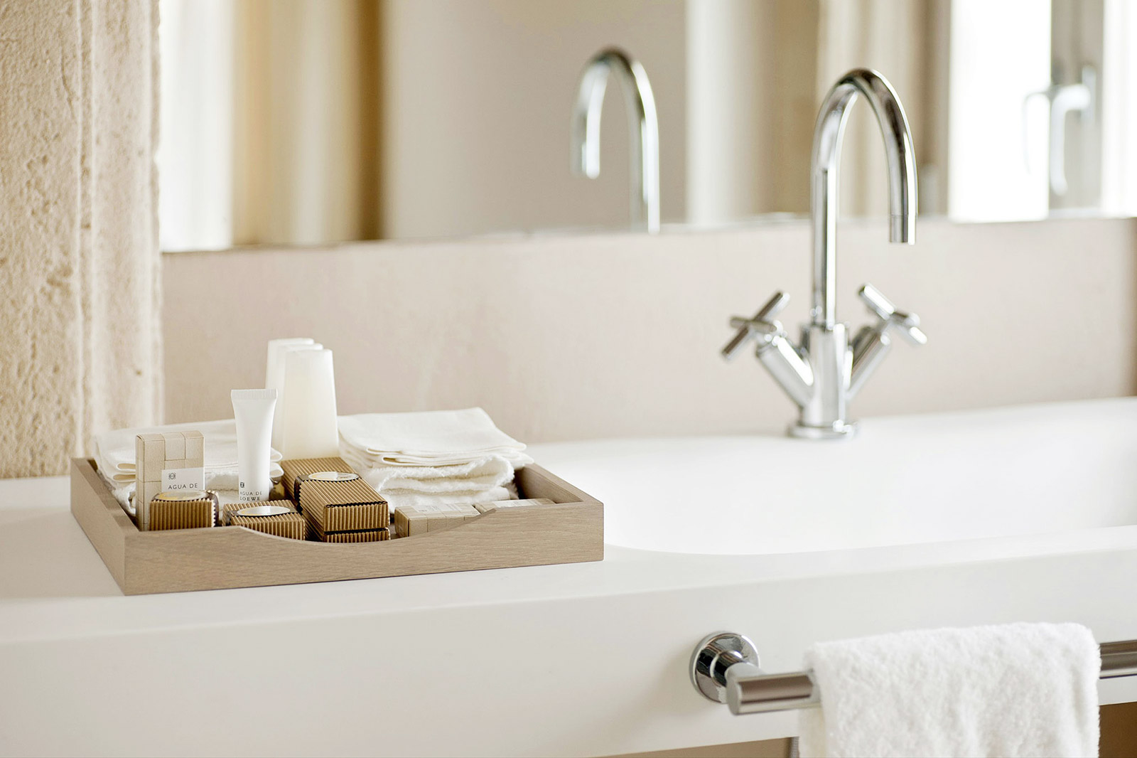 Home staging tips - Put luxurious toiletries in your bathroom