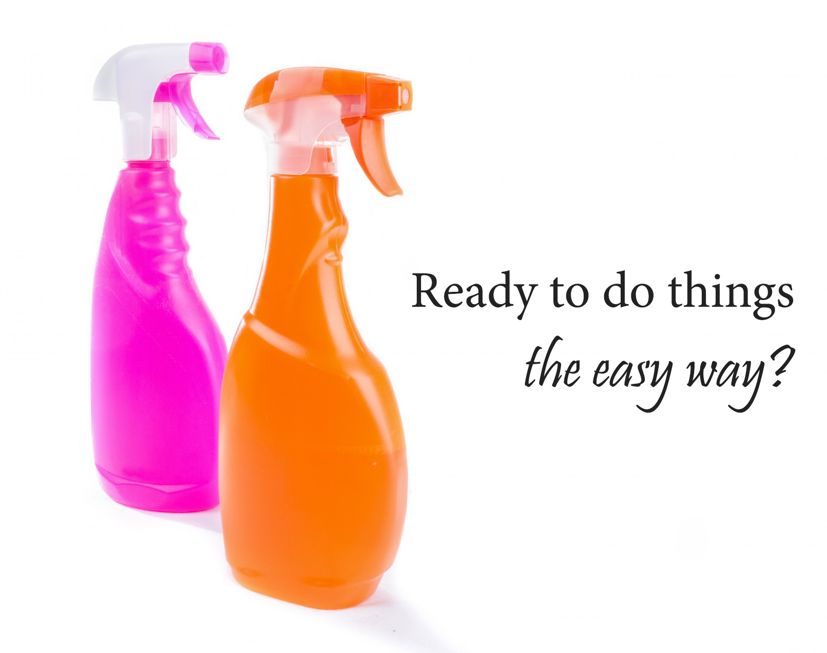 Steps Spring Cleaning Guide