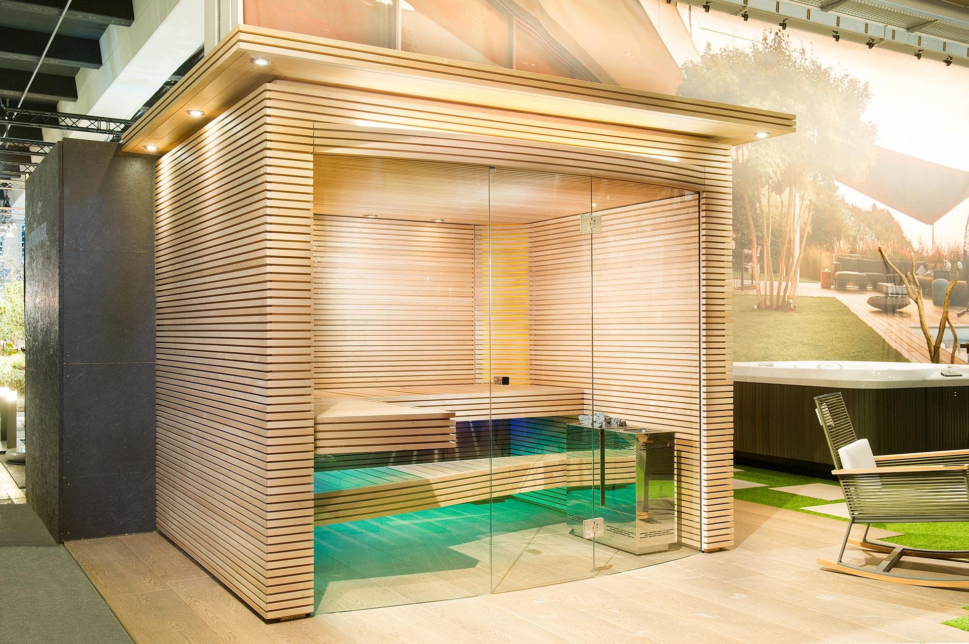 Swiss home sauna by KUENG AG