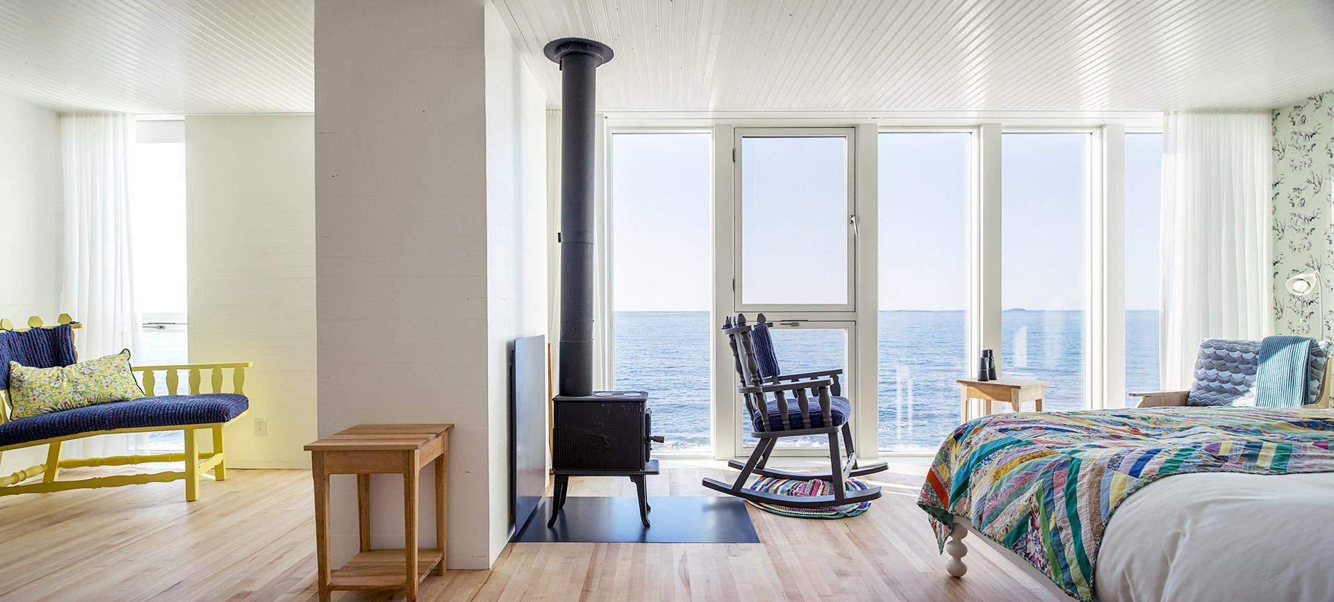 Fogo Island Inn's suite