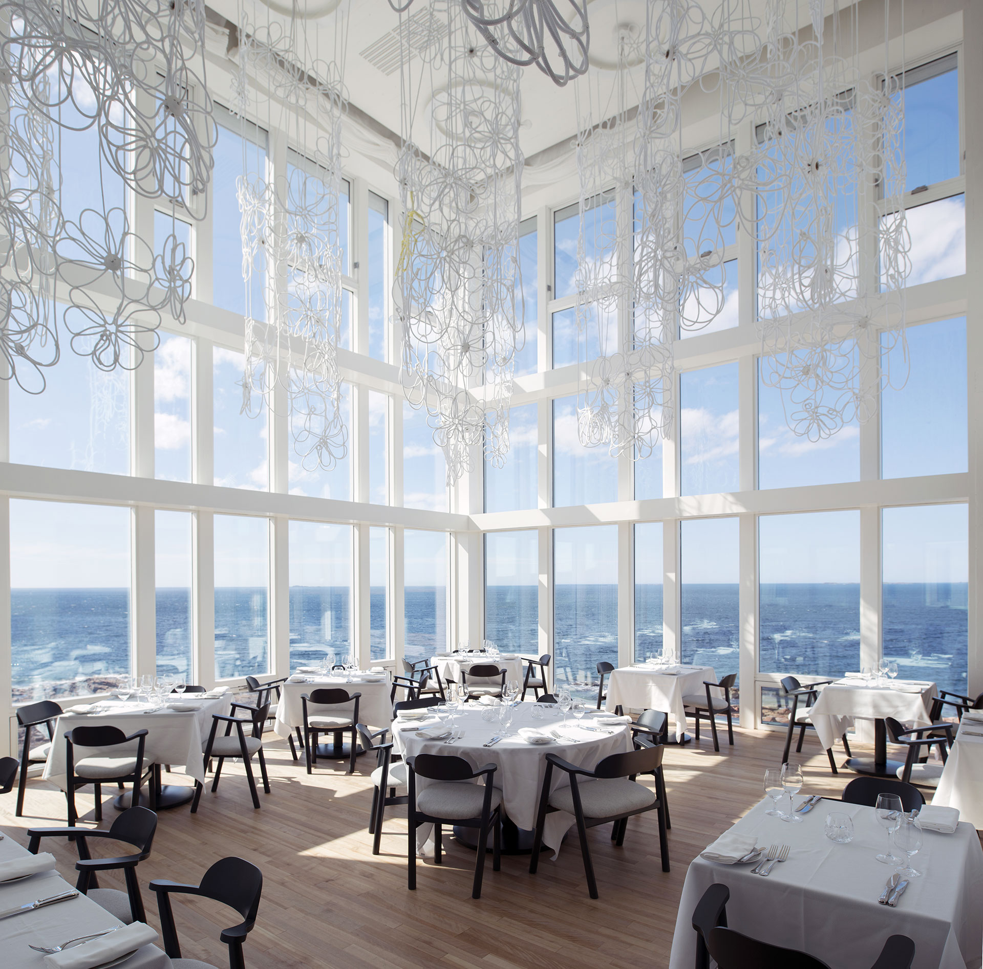 Fogo Island Inn's Dining Space