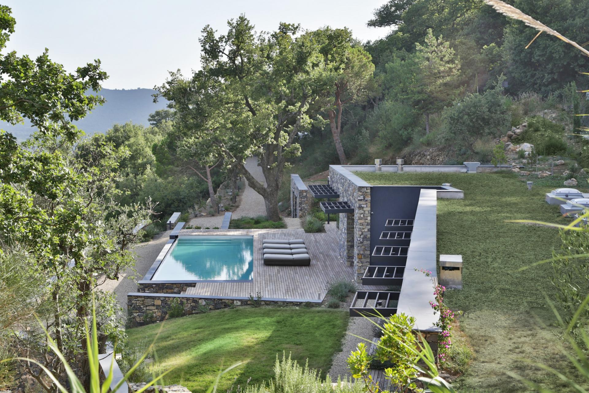 The Villa Nemes: A Natural Stone Residence