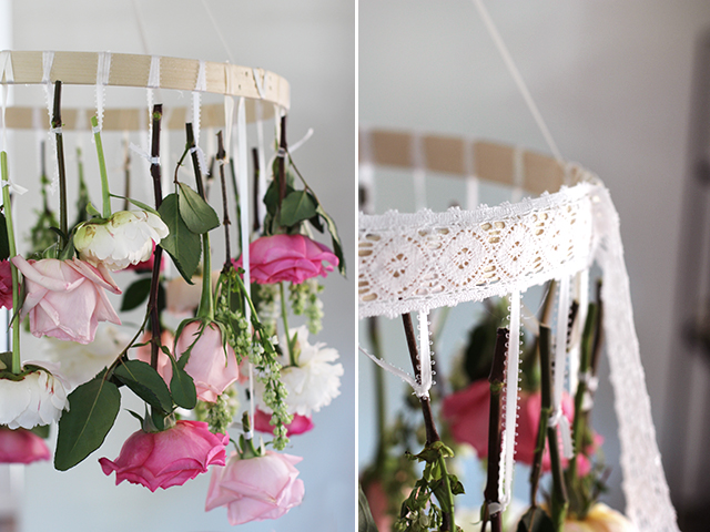 3 diy flower chandeliers to try this spring adorable home we are happy to show you 3 amazing projects of diy flower chandeliers that you might wish to try this spring aloadofball Gallery