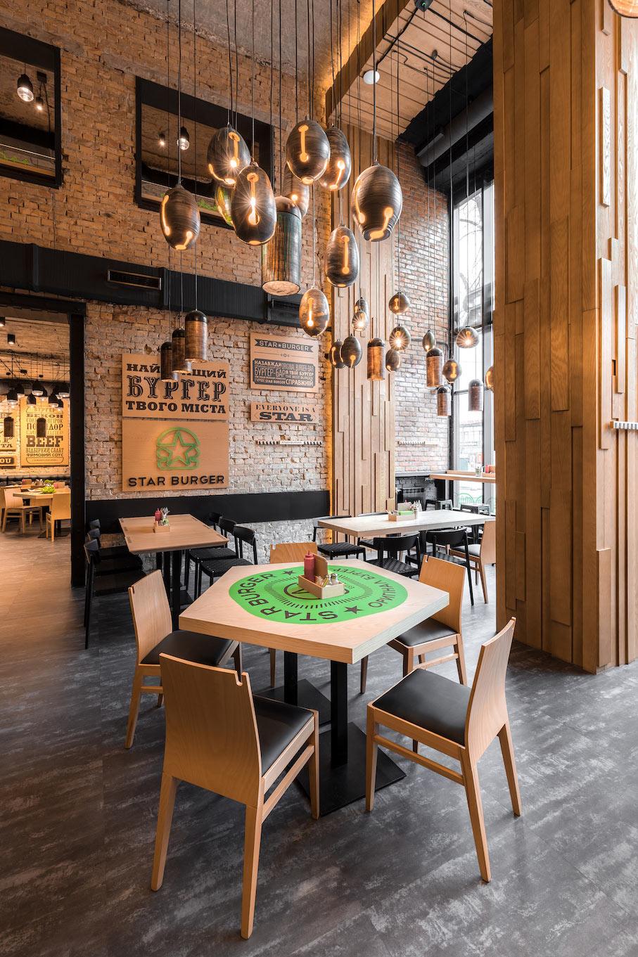 star burger  an industrial restaurant design  u2013 adorable home