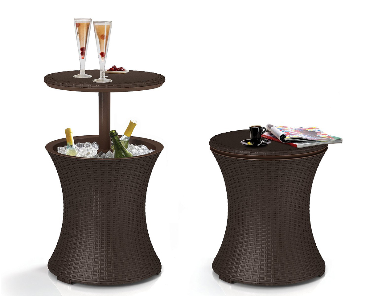 The Best Rattan Outdoor Cocktail Table-1