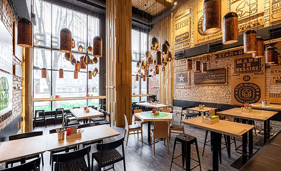Amazing Brazilian Restaurant Without Walls Star Burger An Industrial Restaurant Design Adorable Home