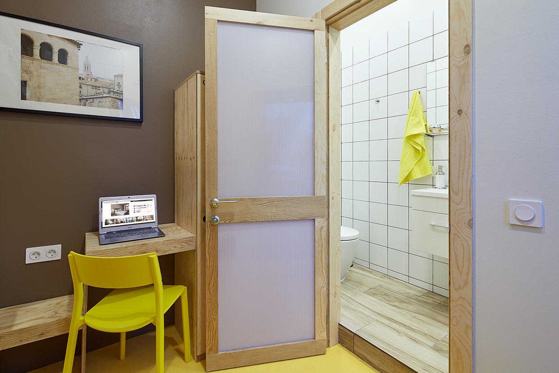 Hostel restroom