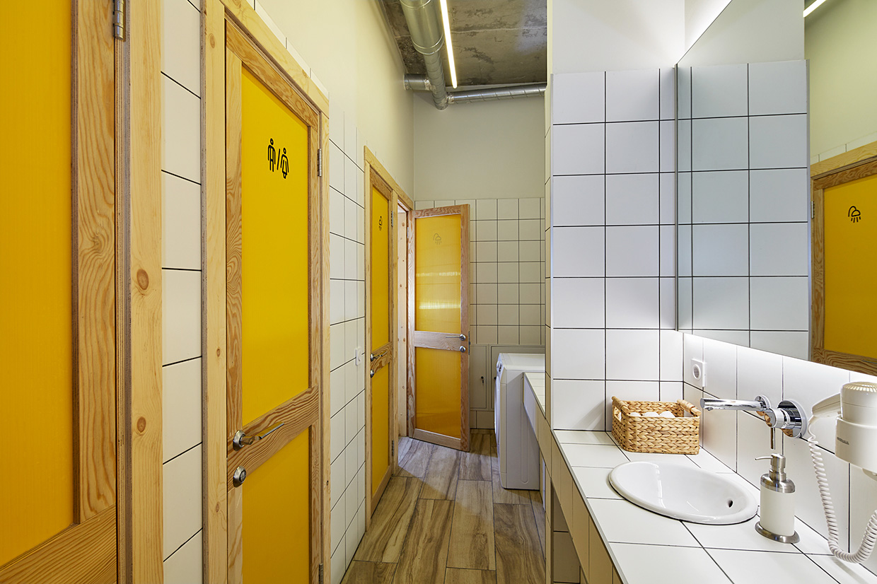 Bathroom Fixtures Twin Cities twin cities melbourne: a contemporary hostel design – adorable home