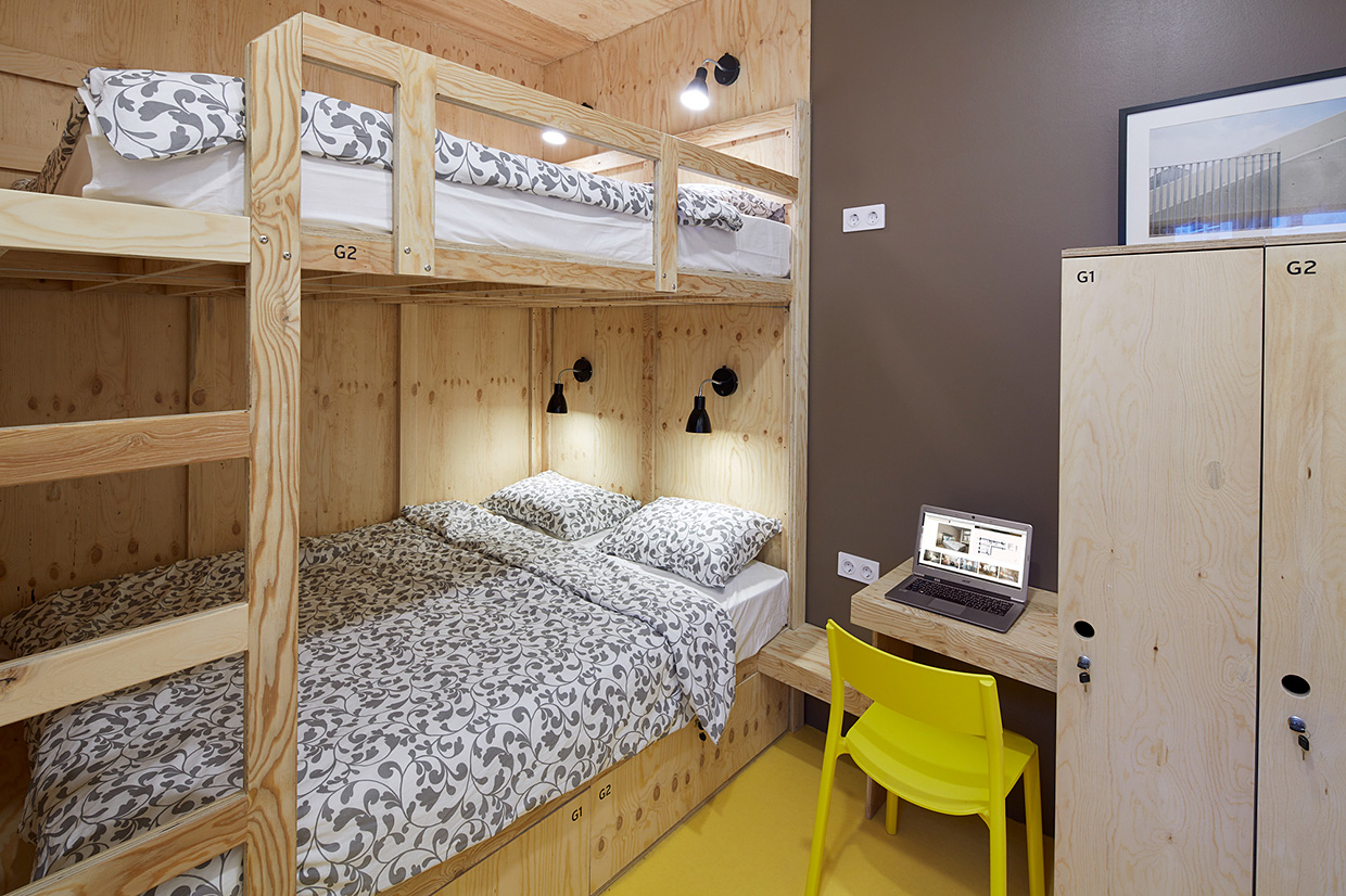 Contemporary Hostel Design (9)