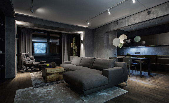 Exquisite Modern Dark Interiors