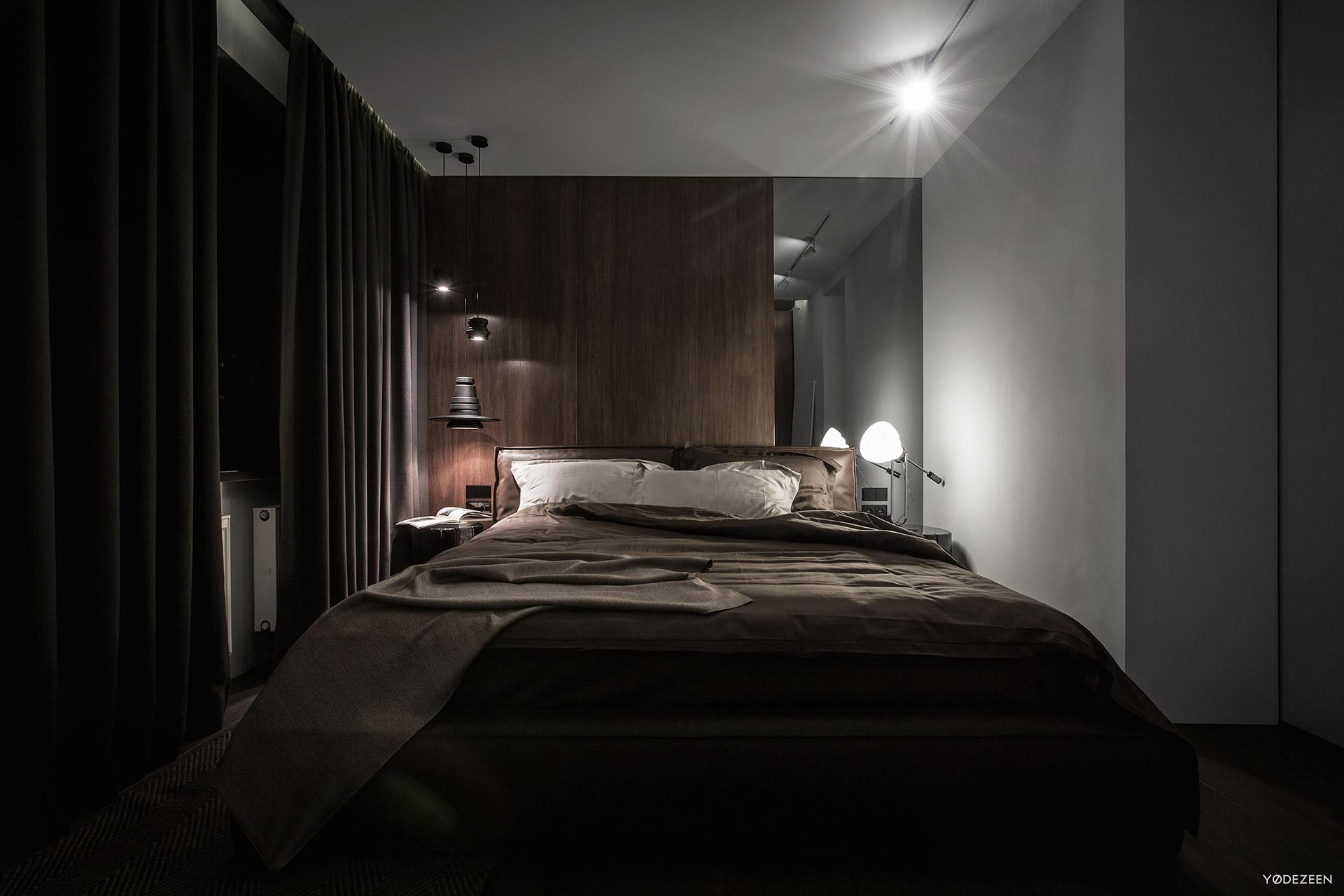 Modern Bedroom Black. Modern Bedroom Design Black B