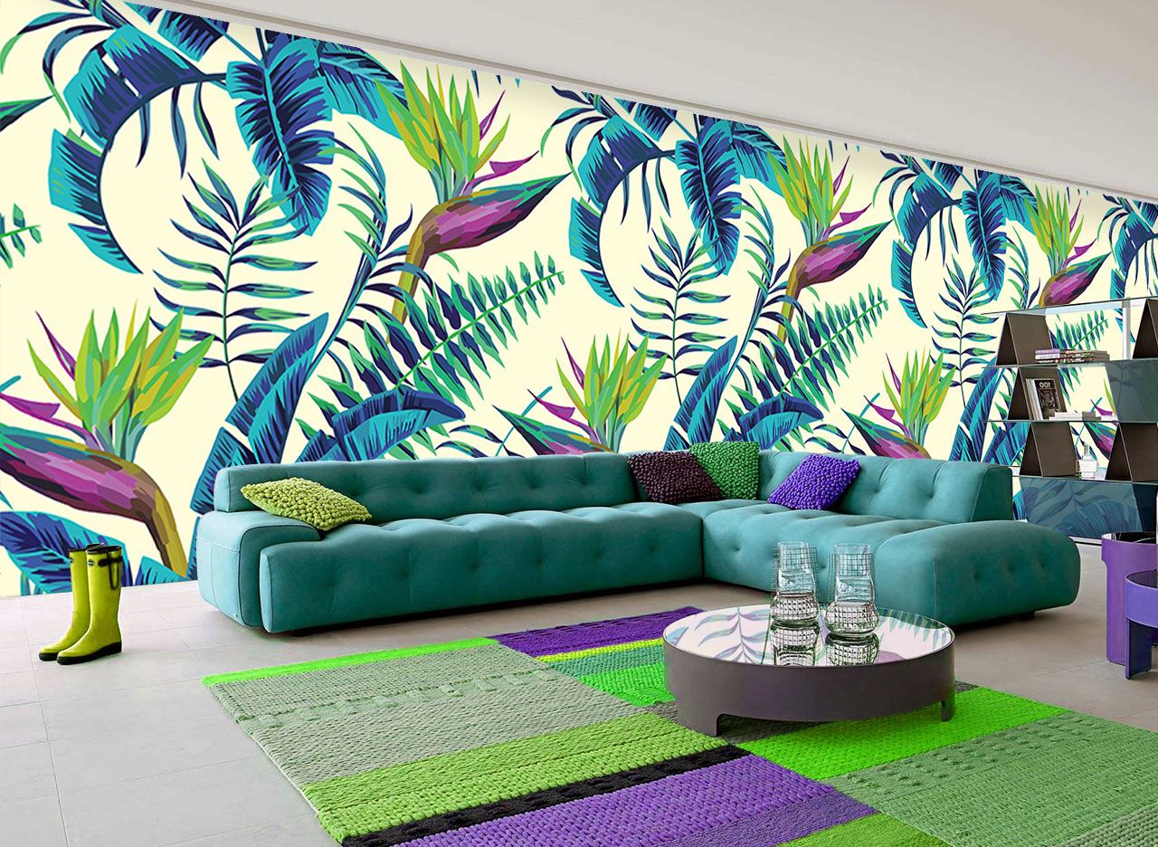 The ultimate comeback tropical wallpapers adorable home for Deco tendance 2018