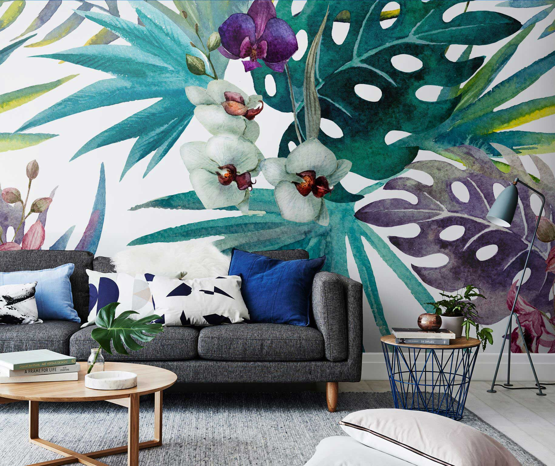 Beach Home Interior Design Ideas: The Ultimate Comeback: Tropical Wallpapers