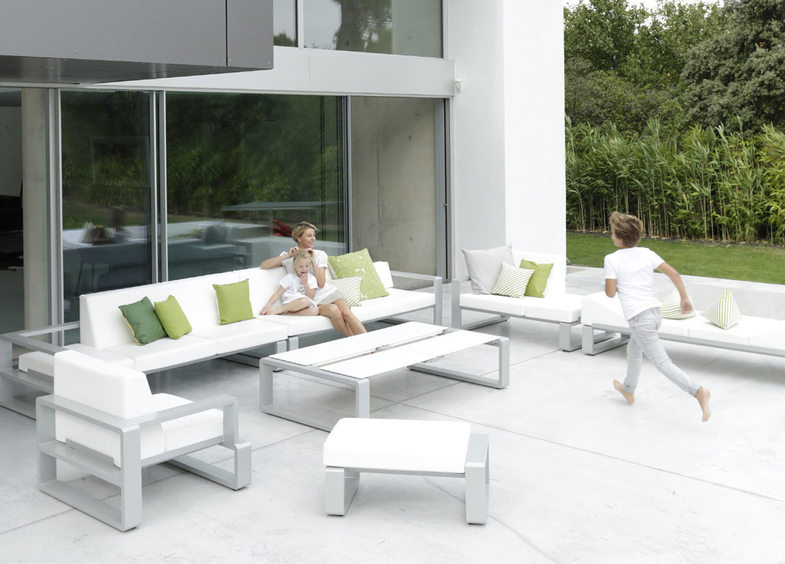trendy outdoor furniture. aluminium patio furniture contemporary trendy outdoor