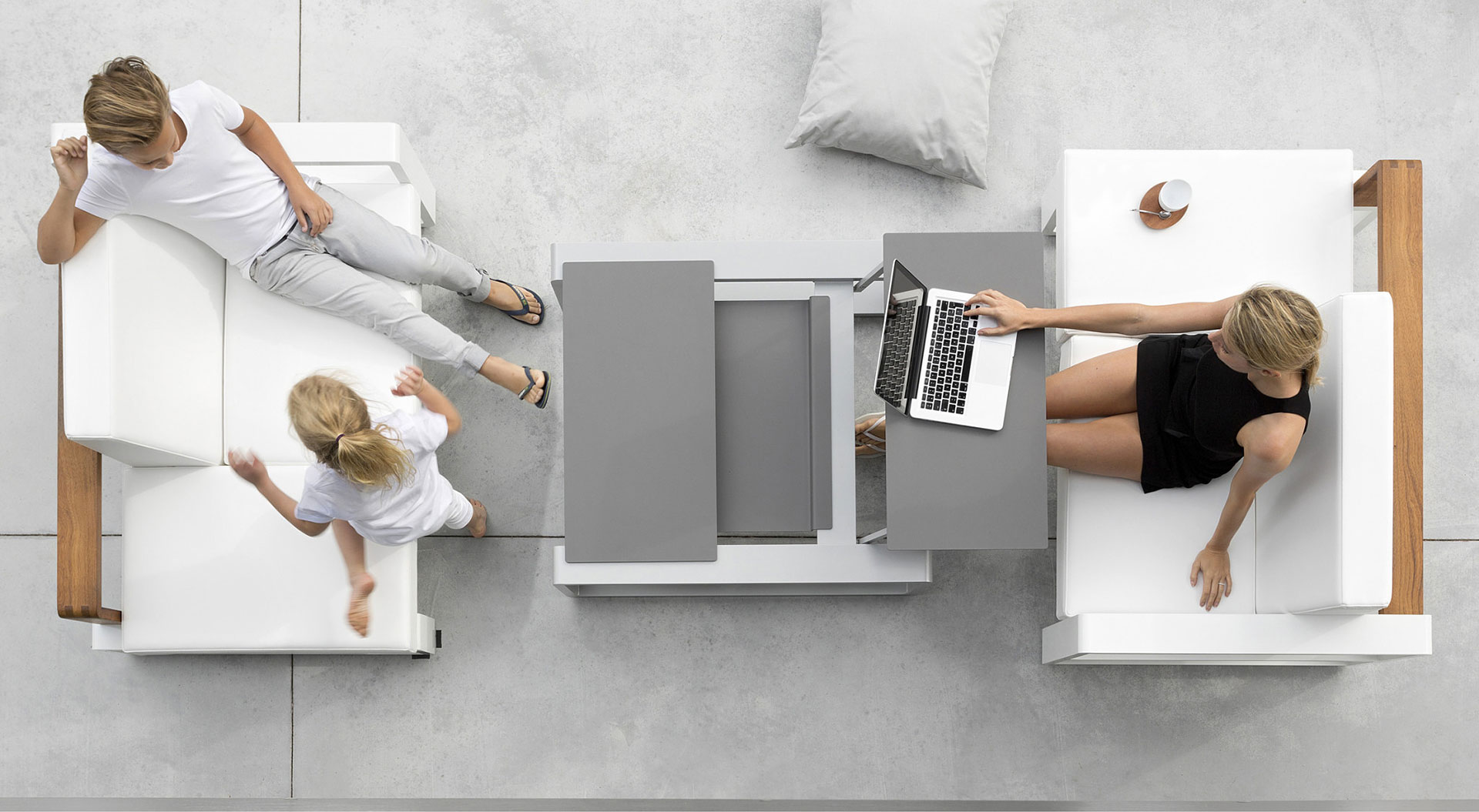 Adjustable tables perfect for work