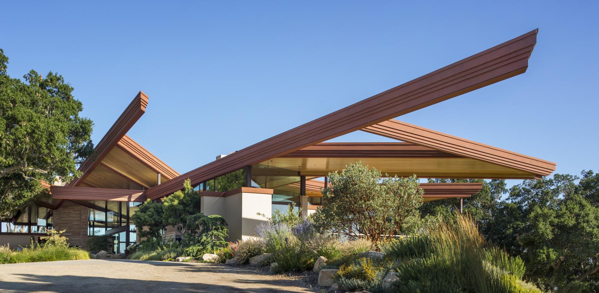 Unique roof
