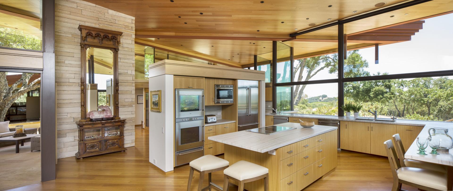 Fox Hollow's kitchen area