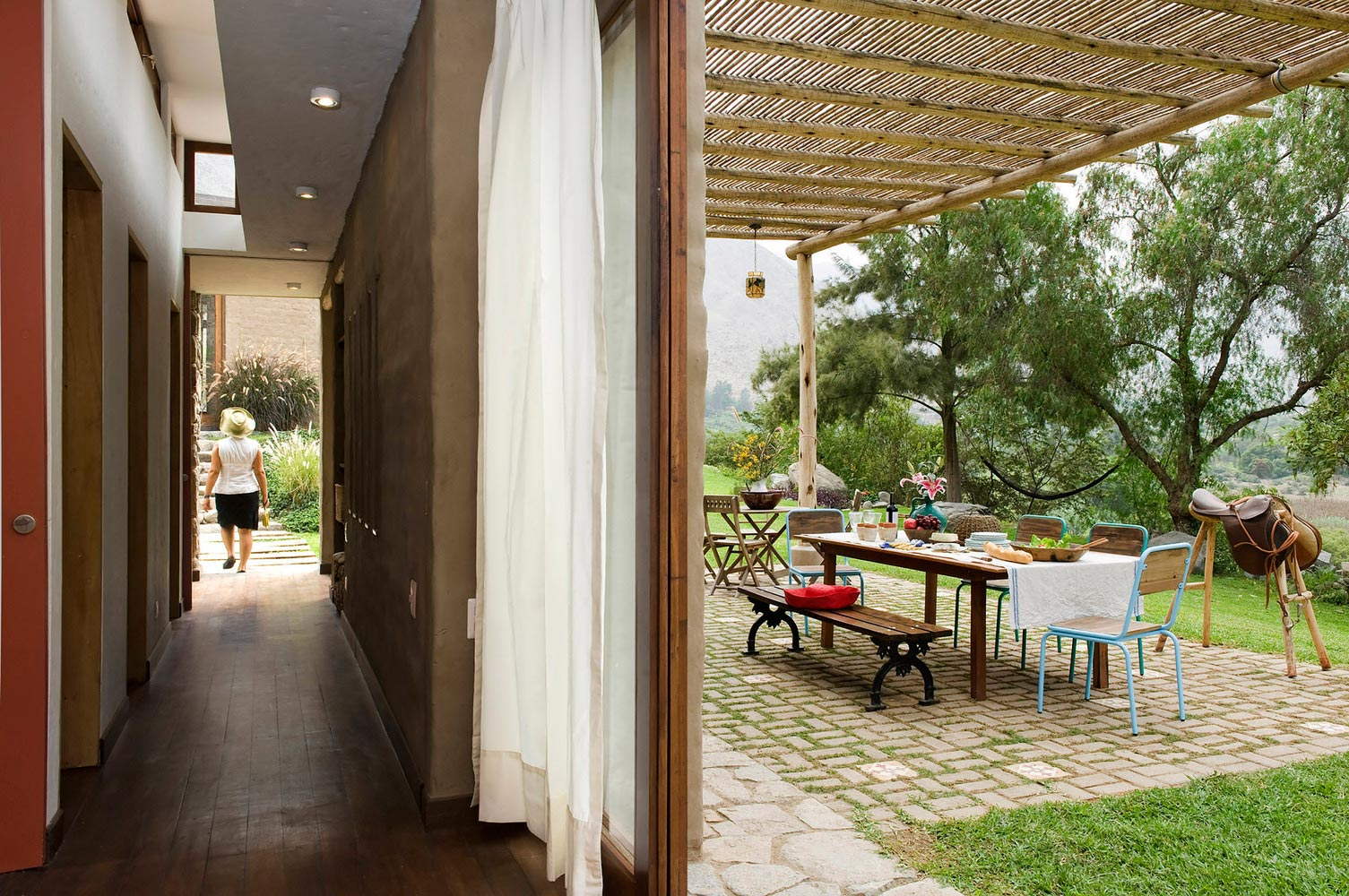 Casa Chontay's porch