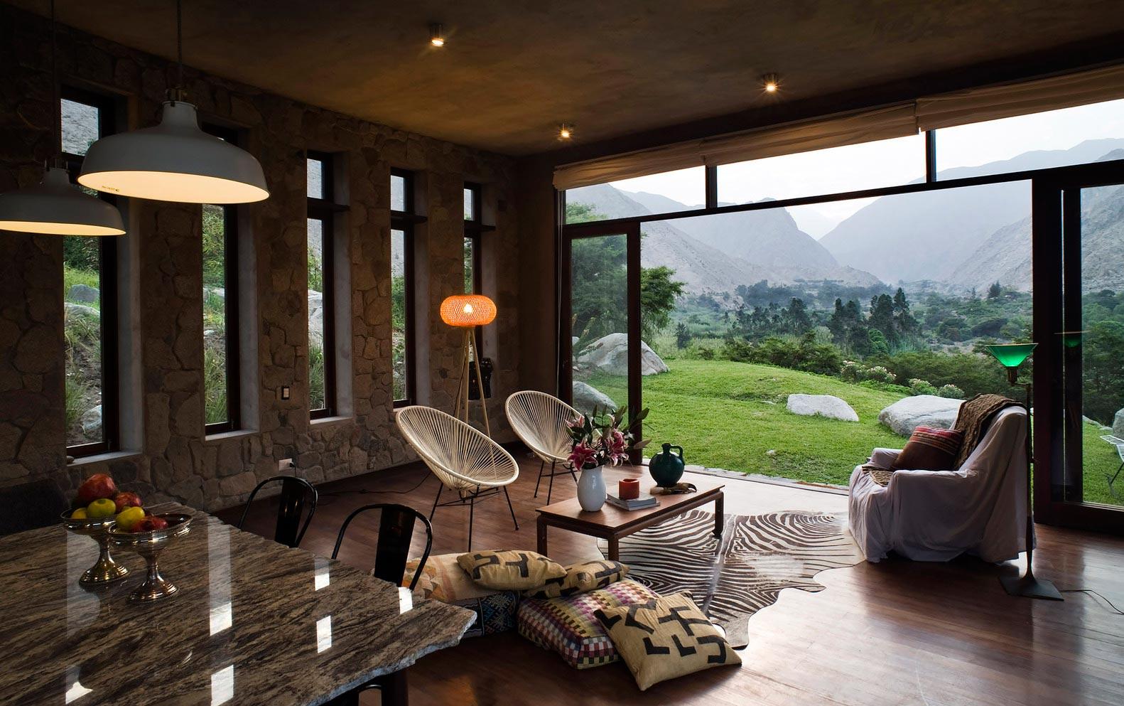 Casa Chontay's living room
