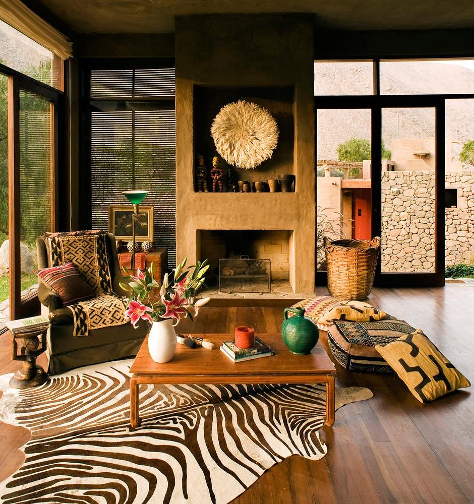 Casa Chontay's interior decor