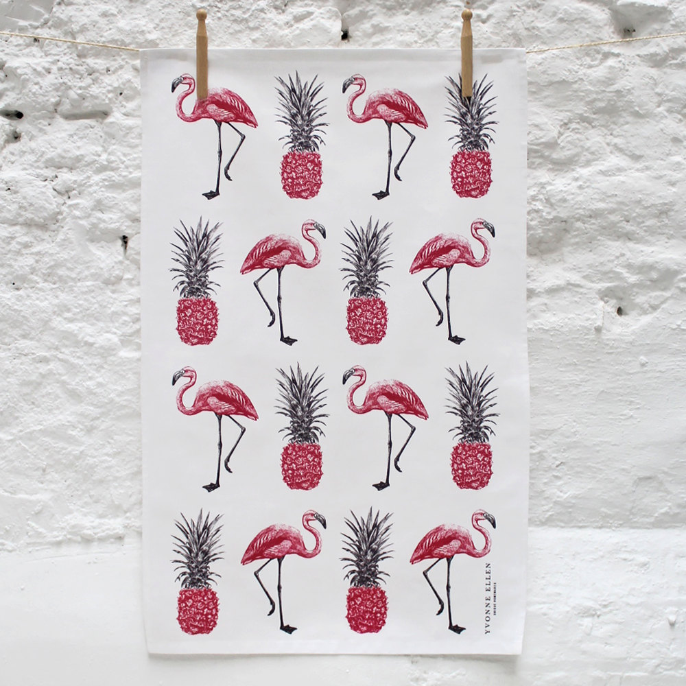The rise of pink flamingo d cor selected items available for Art decoration