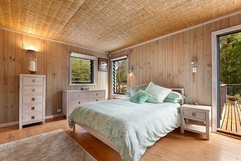 Bedroom in natural colors