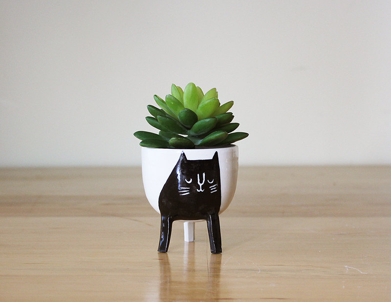 Adorable Cat Planter Adorable Home