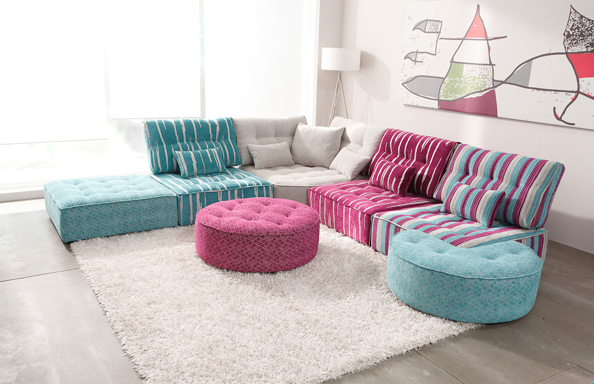 The Fully Customizable Arianne Love Sectional Sofa Adorable Home