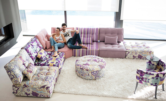 The Fully Customizable Arianne Love Sectional Sofa