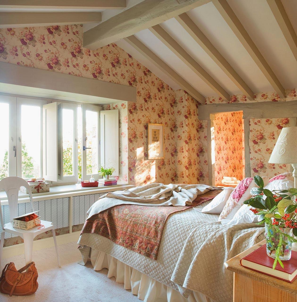 Country Bedroom Design Idea