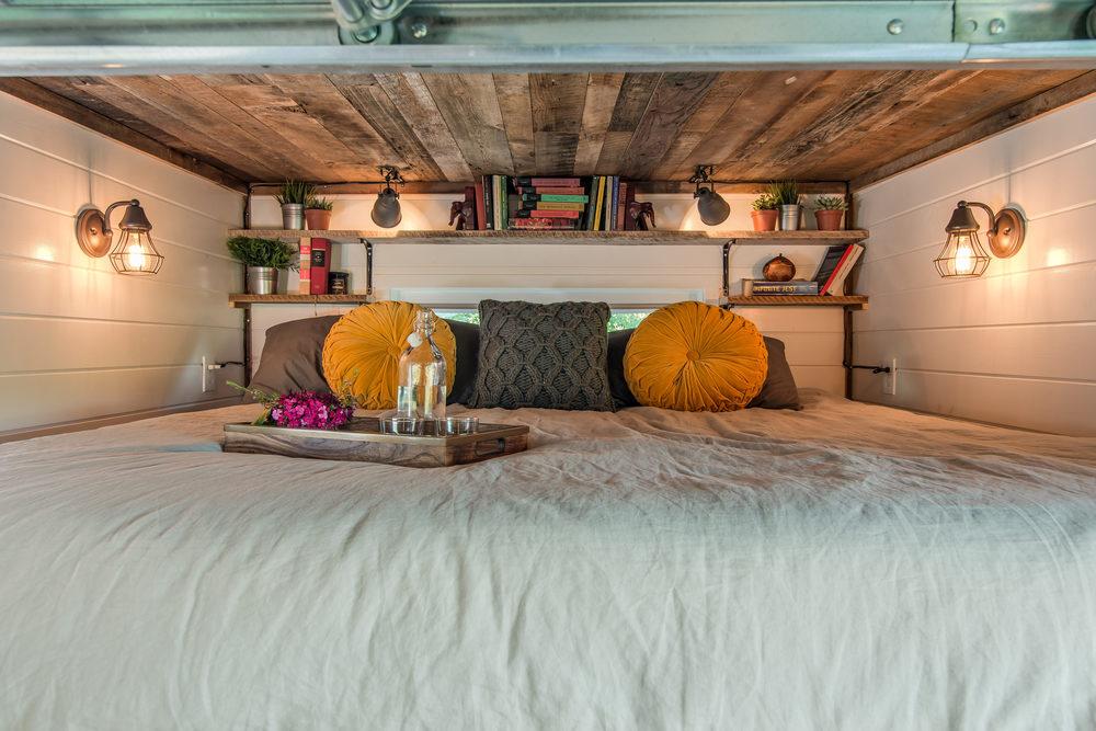 Cozy loft bed