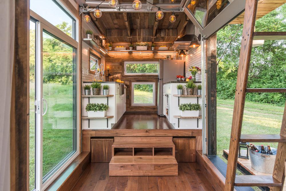Modern trailer home