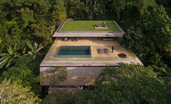 A Futuristic Jungle House in Brazil