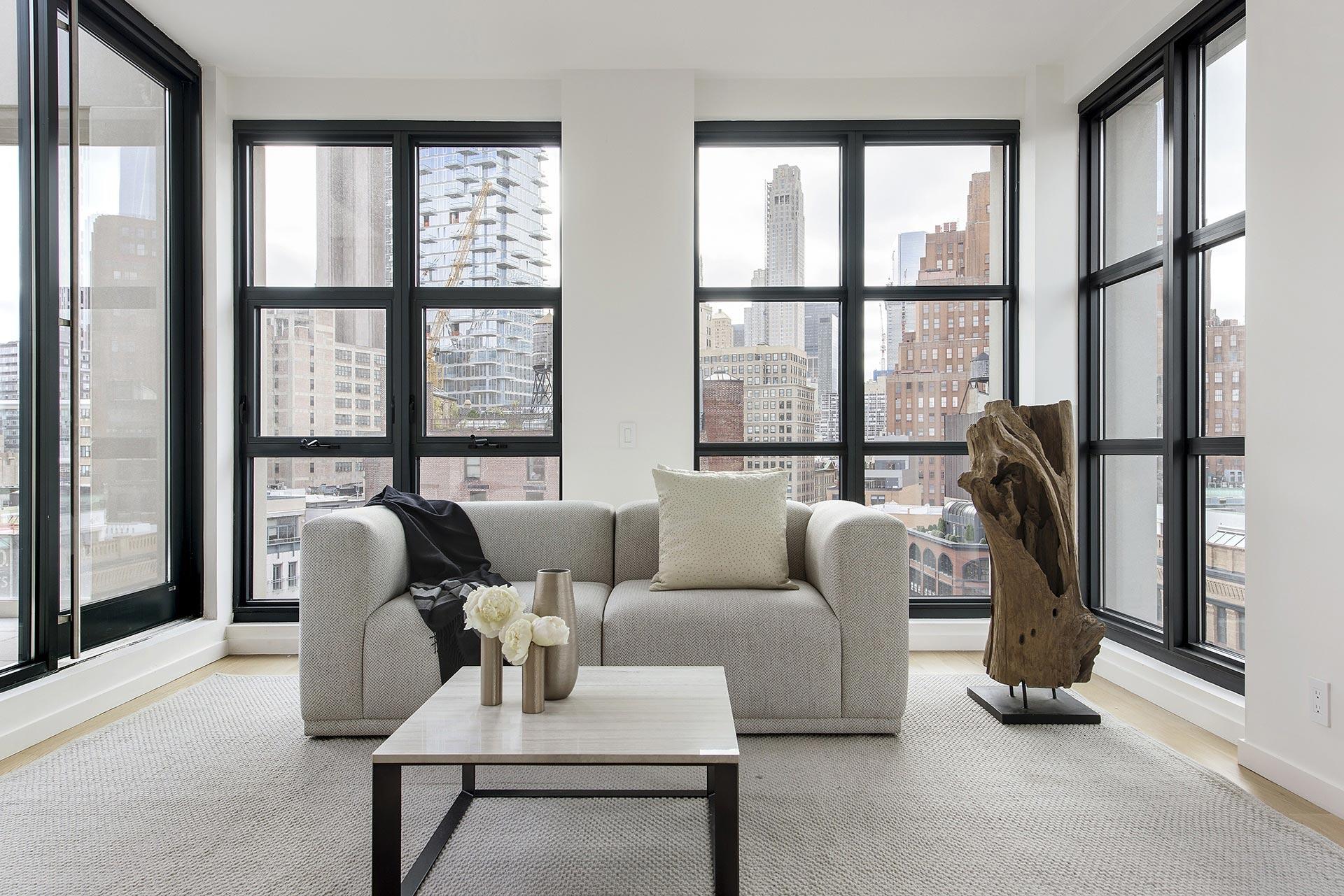 Minimalist penthouse decor