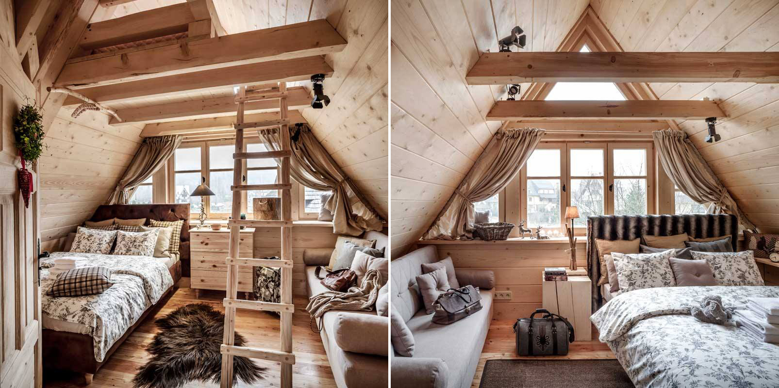 Design Alpine Style Bedroom