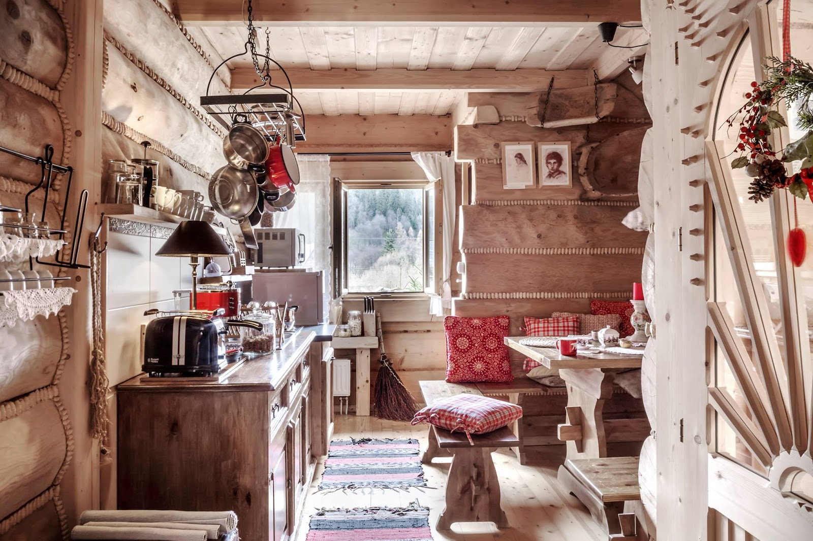 Adorable rustic kitchen