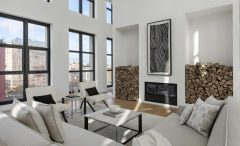 Live Like a Movie Star in This Minimalist Penthouse