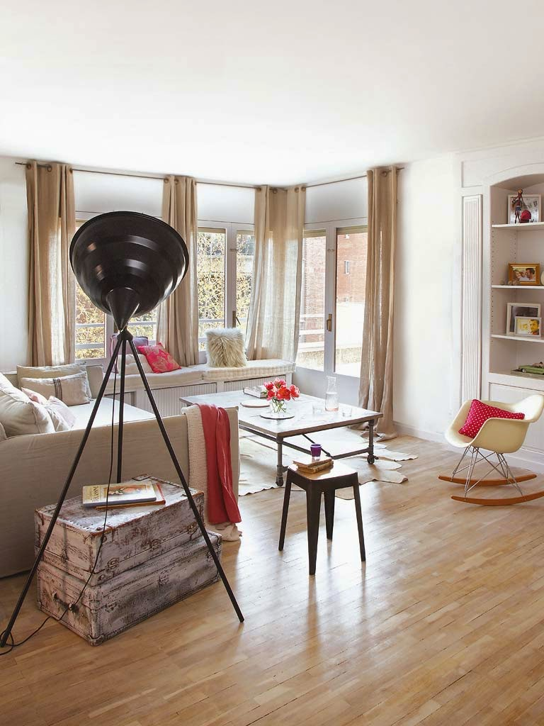 A vintage apartment with a modern flare adorable home for Decoracion piso vintage