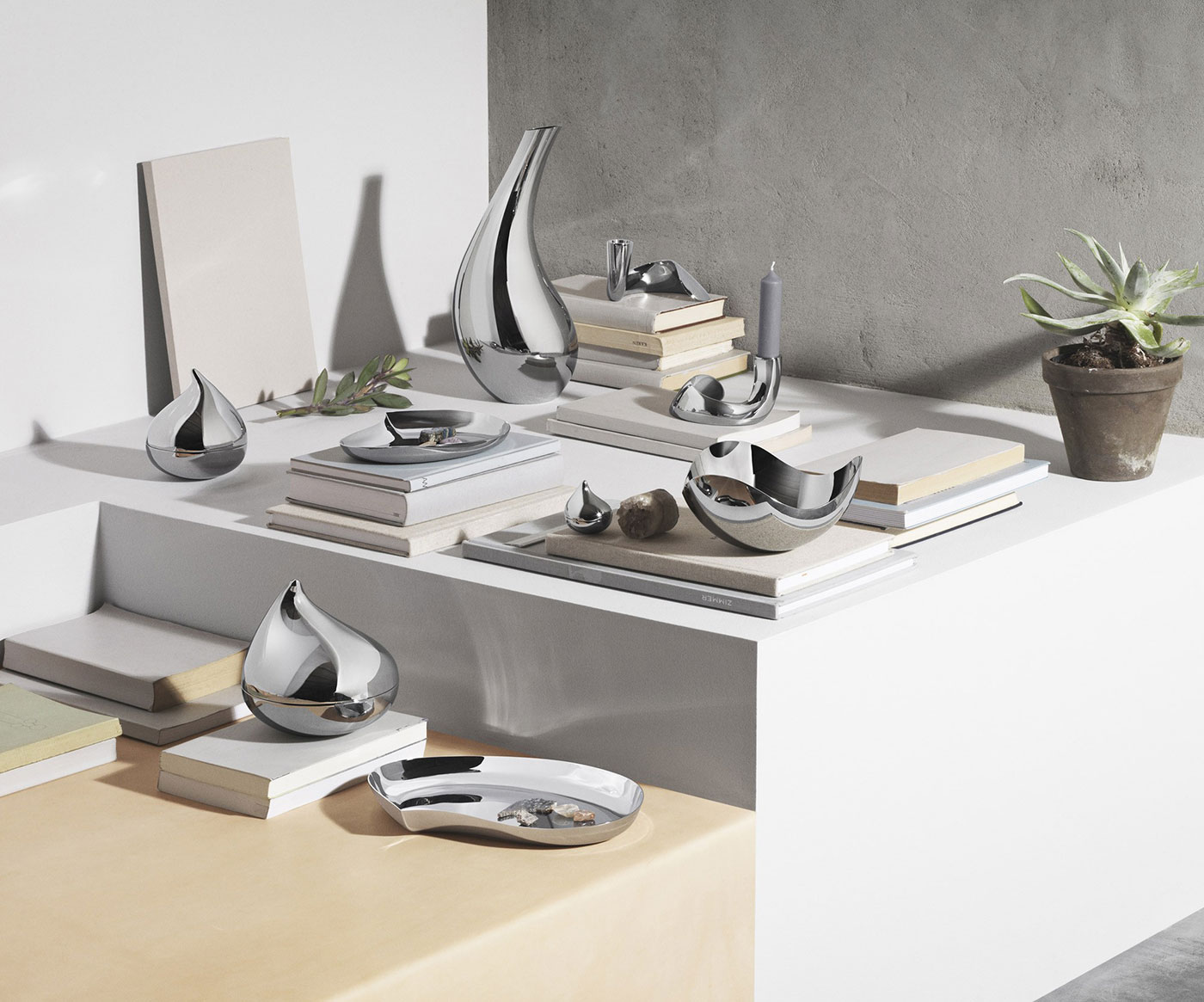 Bloom stainless steel collection