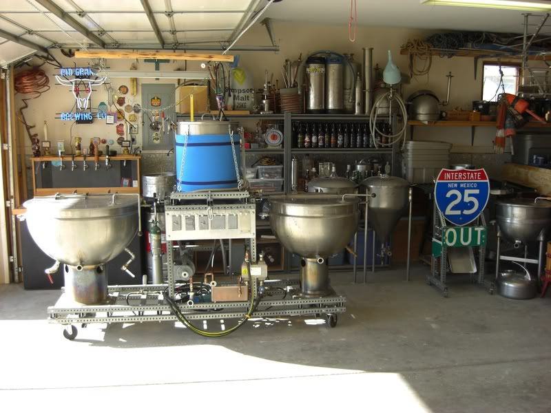 Garage brewery