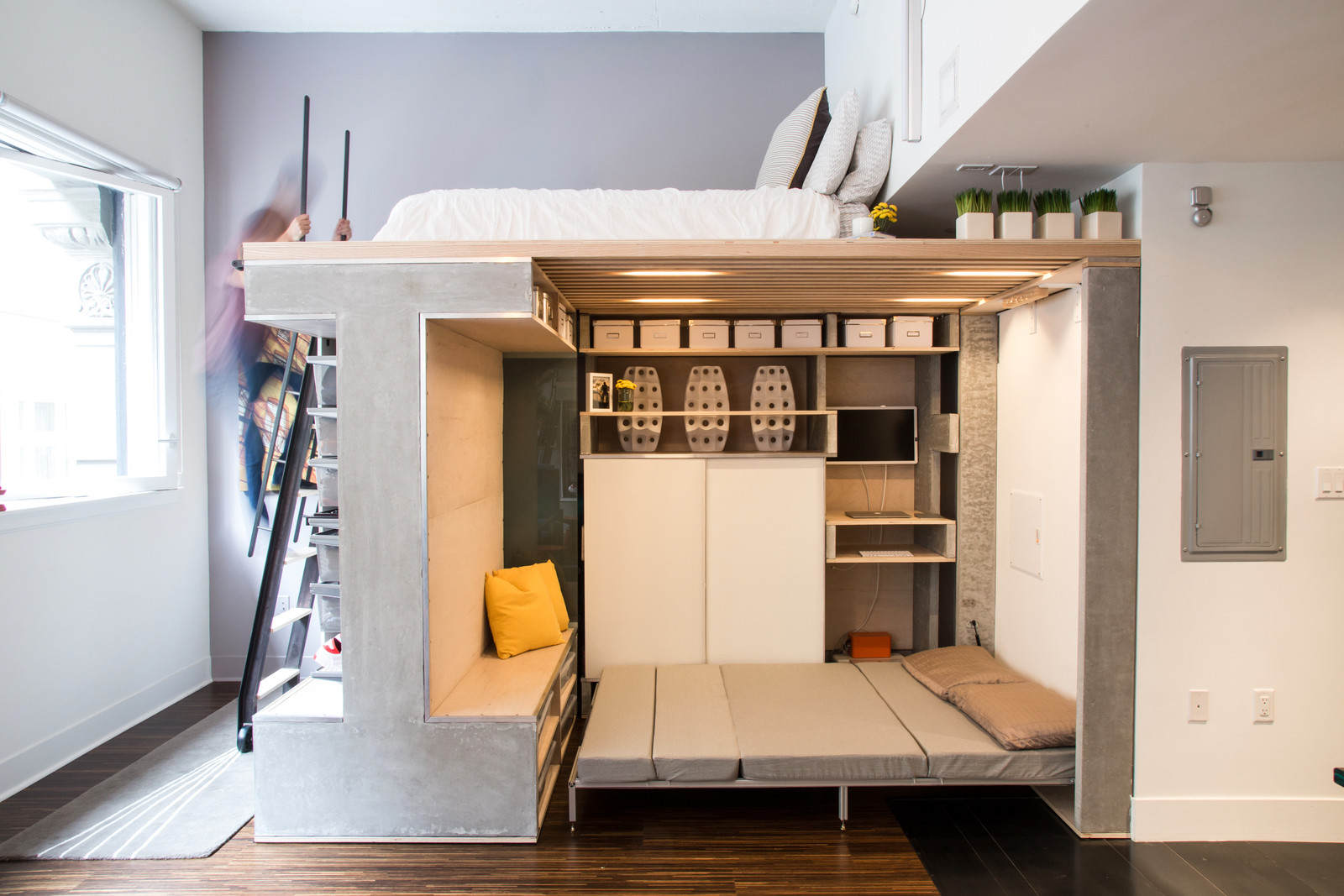 Innovative small space design
