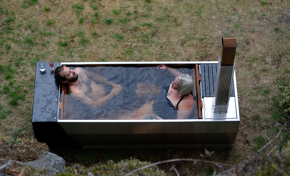 SOAK A Different Kind Of Outdoor Hot Tub Adorable Home
