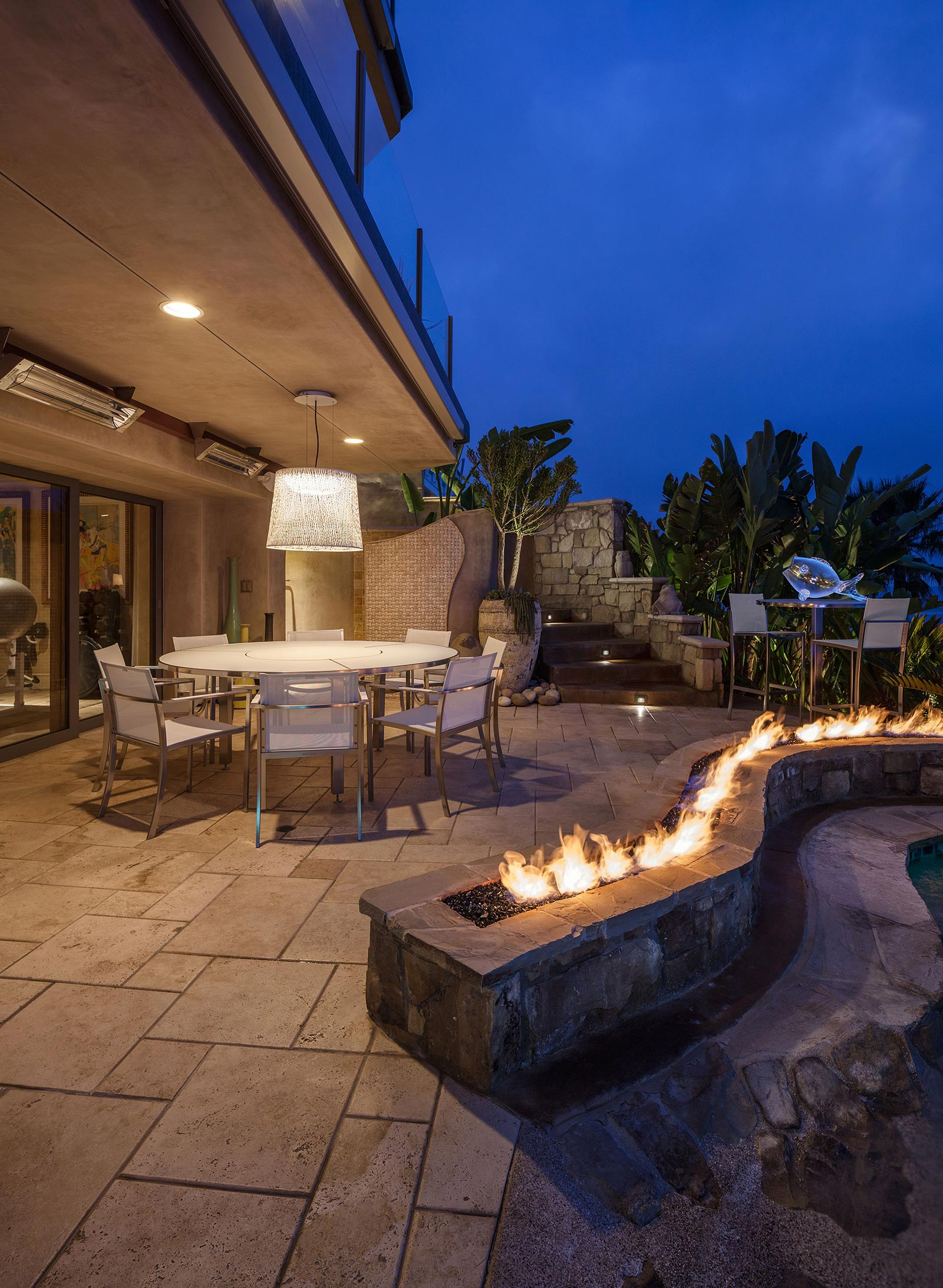 Modern patio lighting solutions