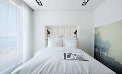 A Minimalist Guest Bedroom Space