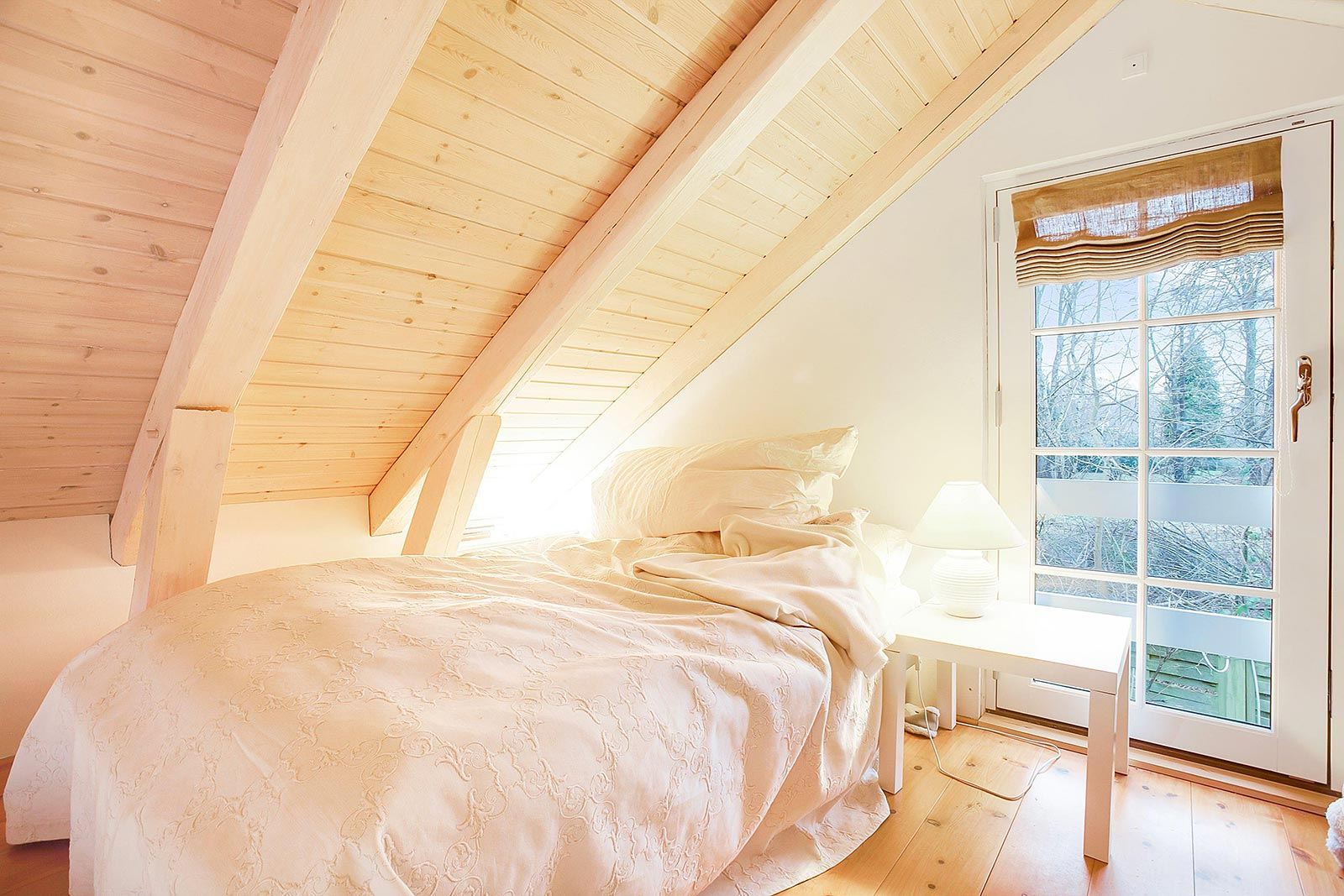 Bright and cozy bedroom