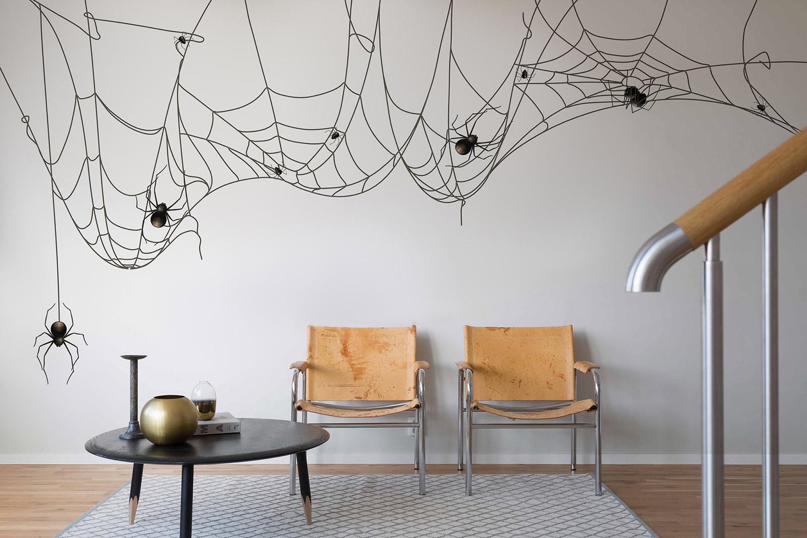 Wall Decor Halloween : Mysterious cool halloween removable wall decor