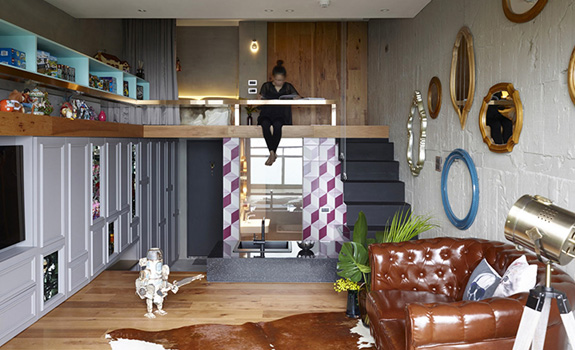 Eclectic Interior for Eclectic People