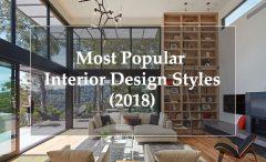 17 Most Popular Interior Design Styles (2019)