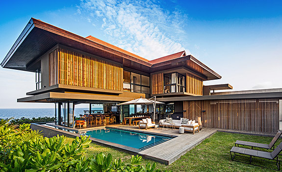 African Panoramic Luxury House